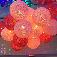 batterilysene thailand bomull ballen lys serie color ball 20 lampe cap 3.5meters