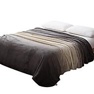 Felpudo Cinzento,Estampado Curva 100% Poliéster cobertores