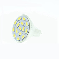 8W GU4(MR11) Spot LED MR11 15 SMD 5630 700-900 lm Blanc Chaud Blanc Naturel Rouge Bleu Vert Gradable DC 12 AC 12 AC 24 DC 24 9-30 V1