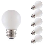 3.5 E26 LED filament žarulje G16.5 4 COB 300 lm Toplo bijelo Može se prigušiti AC 110-130 V 6 kom.