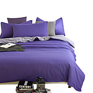 Mingjie Wonderful Purple and Grey Bedding Sets 4PCS for Twin Full Queen King Size from China Contian 1 Duvet Cover 1 Flatsheet 2 Pillowcases