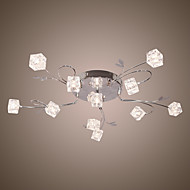 10W Flush Mount ,  Modern/Contemporary / Traditional/Classic / Rustic/Lodge / Vintage / Retro / Lantern / Country / Island / Globe Chrome