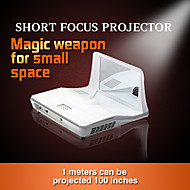 DLP-100M DLP מקרן קולנוע ביתי WXGA (1280x800) 3000 LED 4:3 16:9 16:10