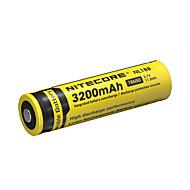 nitecore nl188 3200mAh 3.7v 11.8wh bateria recarregável 18650 li-ion