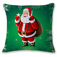 1 pcs Cotton Pillow Case CoverHoliday Traditional/Classic