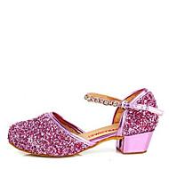 Sapatos de Dança(Roxo / Prateado / Dourado) -Infantil-Não Personalizável-Latina