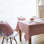 obdélníkový Pruhovaný Ubrusy , Směs lnu a bavlny MateriálHotel Jídelní stůl / Svatební Party Dekorace / Svatební hostiny Večeře / Vánoční