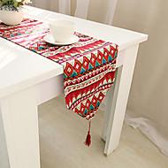 obdélníkový Se vzorem / Vyšívané / Květinový stolní ubrus , Směs bavlny Materiál Hotel Jídelní stůl / Tabulka Dceoration