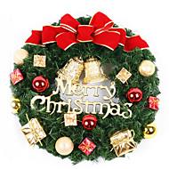 karácsonyi dekoráció koszorú