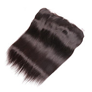 Brazilian Virgin Human Lace Frontal Closure Straight With Baby Hair Full Frontal Lace Closure 13x4 Frontals