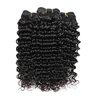 3 bundles Brazilian Deep Wave Human Hair Weave Extensions 300g Full Head Set 8inch-28inch