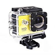 SJ4000 Action Kamera / Sportskamera 20MP 4608 x 3456 WIFI / Justérbar / Trådløs / Vidvinkel 30fps Nej ± 2 EV Nej CMOS 32 GB H.264