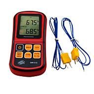 gm1312 Standard (einschließlich zwei k01-Sonde) Kontaktthermometer hochpräzise Temperaturmessgerät