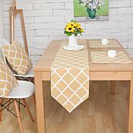 Rectângular Padrão / Floral / Geométrico Toalhas Finas de Mesa , Mistura de Algodão Material Hotel Mesa de Jantar / Tabela Dceoration
