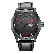 Mens Watch Display Sport Wwatch Band Leather relogio masculino Quartz  Clock relogio masculino