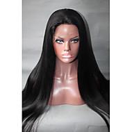 quente!! cabelo 28 não transformados remy brasileiro do cabelo virgem cheia do laço perucas '' humano perucas de seda em linha reta com o