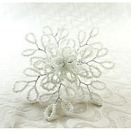 Rechthoekig Met Patroon / Meetkundig / Feest Servetring , Glas MateriaalHotel Eettafel / Wedding Party Decoration / Wedding Banquet Diner