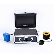 1000TVL Underwater Fishing Camera Video Fish Finder Ice Fishing Camera with 50M cable & LED Light Control
