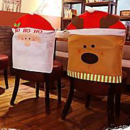 elg stol sett med julepynt 50 * 60 cm