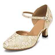 Customizable Women's Dance Shoes Lace / Sparkling Glitter Latin / Jazz / Modern / Swing Shoes / Salsa Sandals