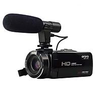 ordro® HDV-Z20 met externe microfoon 1080p full hd& wifi-verbinding 8MP sony sensor image 24mp resolutie