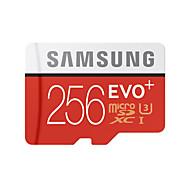 Samsung 256GB TF cartão Micro SD cartão de memória UHS-I U3 class10 EVO Plus EVO+