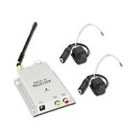 1.2ghz 고급 보안 CCTV 무선 CMOS 컬러 비디오와 AV 리시버