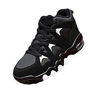 נשים-נעלי אתלטיקה-PU-פלטפורמה אחר נוחות-ורוד שחור ואדום שחור ולבן-שטח יומיומי ספורט-עקב עבה פלטפורמה