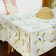 Carré Toile Nappes de table , Polyester Matériel Hôtel Dining Table / Tableau Dceoration