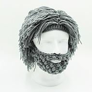 ren bomuld ægte nye år gave parykker kreative skæg skøre håndlavede parykker børn mænd og kvinder sjovt årsmøde (ikke syntetisk ren