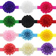 13pcs / bébés filles fixés ruban fleur accessoires pour cheveux Bandeau todder infantile hairband