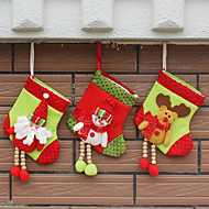 3cover) (forskjellige stiler) nymotens hus ornament juledekorasjoner julestrømpe