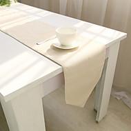obdélníkový Jednolitý stolní ubrus , Směs bavlny Materiál Tabulka Dceoration / Hotel Jídelní stůl