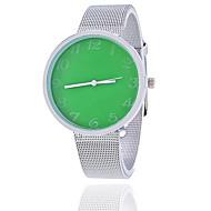Men's Women's Couple's Unisex Fashion Watch Wrist watch Quartz Alloy Band Vintage Casual Silver