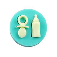 dětské láhve bradavky fondant dort čokoláda silikonové formy, dekorace nástroje Pečení