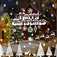 Karácsony / Mondások & Idézetek / Ünneő Falimatrica Repülőgép matricák Dekoratív falmatricák,PVC Anyag Eltávolítható / Újra-pozícionálható