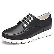 Aokang Women's Shoes Leather Flat Heel Round Toe/Closed Toe Fashion Sneakers/Athletic Shoes Outdoor/Athletic/Casual