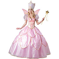 Princess Fairytale Festival/Holiday Halloween Costumes Pink Lace Solid Dress HatsHalloween Christmas Carnival Children's Day New Year