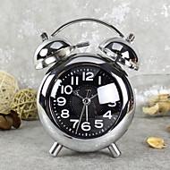 שעון מעורר עם סגנון מודרני במקרה matel ב movment רסיס הצבע השקט