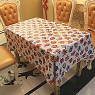 obdélníkový Se vzorem / Prázdninový Ubrusy , Směs lnu a bavlny Materiál Tabulka Dceoration / Hotel Jídelní stůl 1