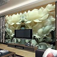 Art Deco / 3D Ev için duvar kağıdı Çağdaş Duvar Kaplamaları , Kanvas Malzeme Yapıştırıcı gerekli Duvar , Oda Wallcovering