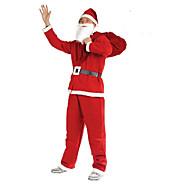 esilämmitys christmas myynnissä! joulu joulupukki puku viisi sarjaa kuitukankaiden vaatteet uros osapuoli suorituskyky vaatteita