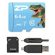 ZP 64 GB MicroSD 9. třída 80 Other Multiple v jednom čtečky karet Čtečka micro SD karet čtečka karet SD ZP-1 USB 2.0