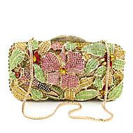 Women Metal Formal / Event/Party / Wedding Evening Bag/The Crystal Hand Bag Diamonds Clutch Gem Purse