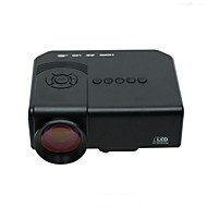 Powerful® Mini LED Projector Support 1080p HD Video with HDMI, USB, SD, TV, VGA Inputs Portable Mini Projector