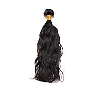 Tissages de cheveux humains Cheveux Brésiliens Ondulation Naturelle 1 Pièce tissages de cheveux
