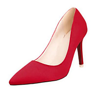 Homme-Décontracté-Noir Vert Violet Rouge Gris-Talon Aiguille Talon cristal-Confort-Chaussures à Talons-Polyuréthane