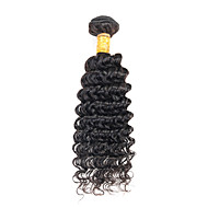 Top Grade 3Pcs/Lot 8-26inch Peruvian Virgin Hair Deep Wave Natural Black Human Hair Weave Hot Sale.
