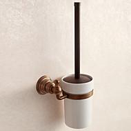 koupelnové doplňky pevná staromosaz WC materiál držáku kartáče