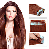 φθηνά τα μαλλιά ταινία επεκτάσεις 20pcs / pack pu ταινία υφάδι δέρμα στις επεκτάσεις ανθρώπινα μαλλιών δωρεάν αποστολή